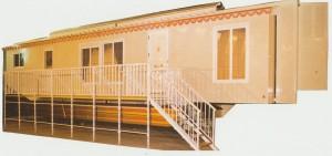 Caravana vivienda de 13.65 m de larga