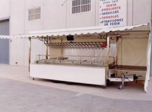 Una vez abierto se convierte en 6.60 m de largo y todo el equipamiento es hidráulico